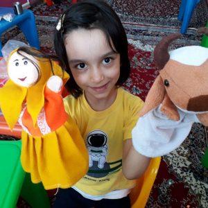 بازی با عروسک های دستی و نمایشی